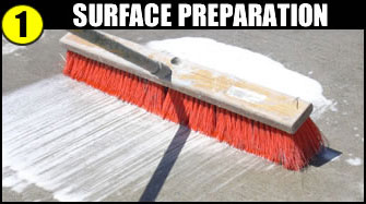 Step 1 - Surface Preparation