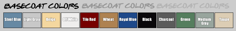 Basecoat Color Samples