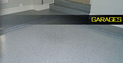 Epoxy flooring garage example