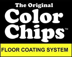 Original Color Chips Floor Coating System