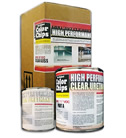 High Performance Urethane Clear Top Coat Kit